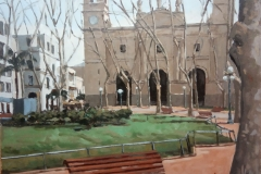 Alvaro-Podesta-oleo-sobre-madera-33x41-Plaza-Matriz