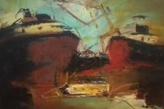 Alvaro-Bonillaoleo-sobre-madera-40x50-Barcos
