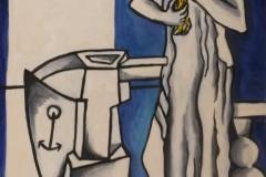 Antolin-Montiel-Figura-frente-al-espejo-oleo-sobre-tela-75x45