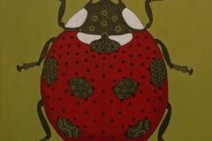 Cecilia Garcia, 60x60, Oleo sobre tela, San Antonio-min