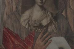 Doris Rawak, 27x18, Collage en papel, Inmaculada-min