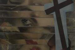 Doris Rawak, 27x20, Collage en papel, Pecado-min