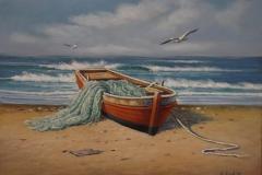 Eduardo Díaz, 30x40, Óleo sobre madera, Playa (4)-min