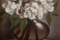 Enrique-Medina-acrilico-sobre-madera50x50-Jarron-con-flores