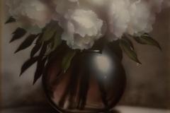Enrique-Medinaacrilico-sobre-madera-80x80-Jarron-con-flores