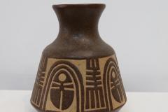 Jaime Nowinski, 20 cm alto, Ceramica, Jarron