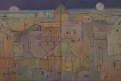 Javier-Velazquez-63x38-Oleo-collage-sobre-madera-Diptico