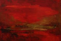 Martha Escondeur, 112x140, Oleo sobre tela, Crepusculo-min