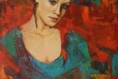 Martha Escondeur, 60x80, Óleo sobre tela, No me esperes