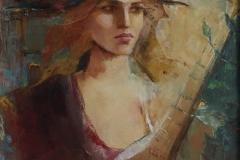 Martha Escondeur, 80x60,  Oleo sobre tela, Sinfonias-min
