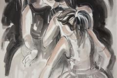 Nancy-Arbolito-oleo-sobre-tela-El-Inicio-del-Dialogo-100x80