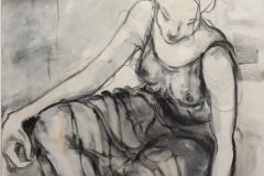 Nancy-Arbolito-oleo-sobre-tela60x80-Mujer-Sentada