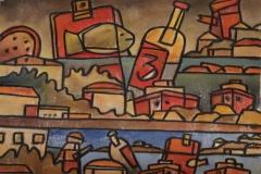 Pablo-Peralta-50x60-Oleo-sobre-tela-Botella