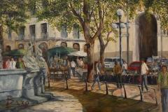 Rosario Baro, 100x70, Oleo sobre tela, Plaza Matriz