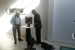 Montaje-Exposicion-Octavio-Podesta-Walter-Tounier